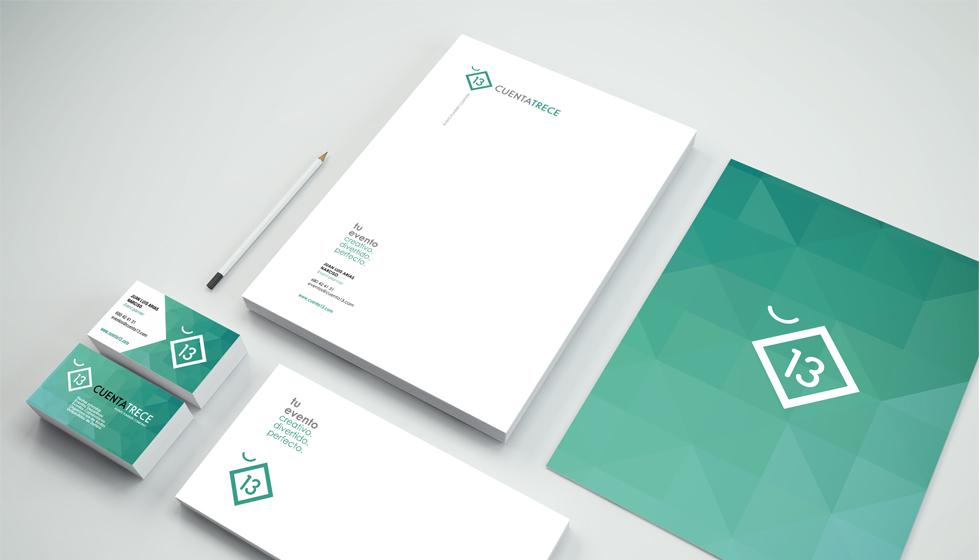 cuenta 13 diseño de logotipo utreromedia