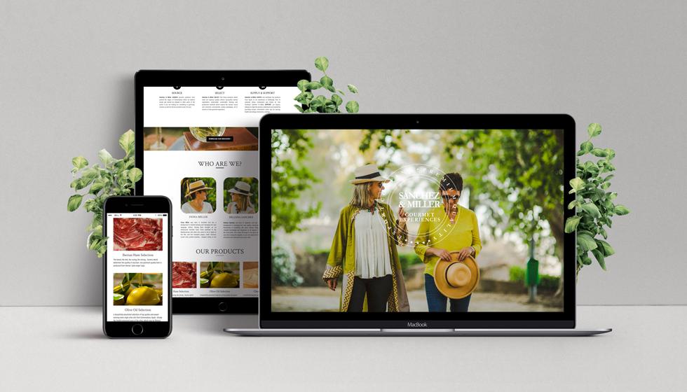 diseño web cáceres sanchez and miller