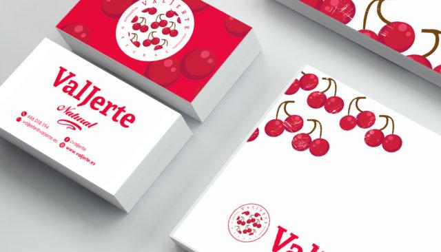 Diseño de logotipo Valjerte Cáceres