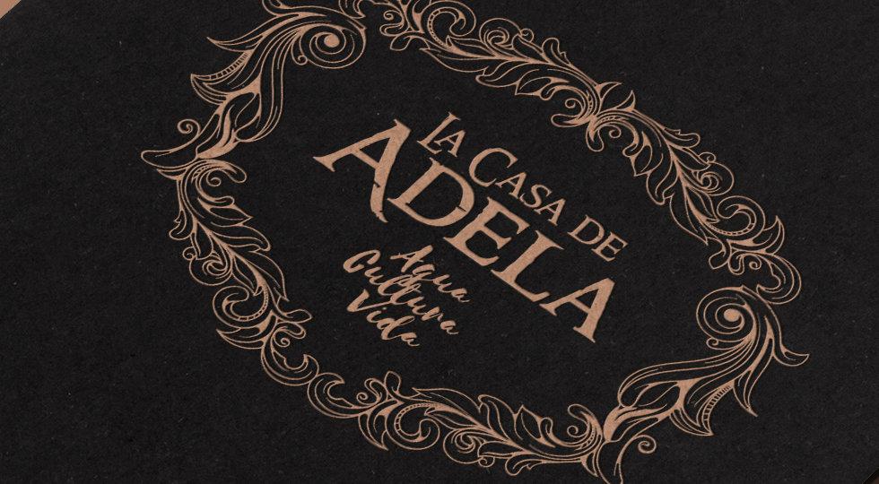 diseño de logotipo la casa de adela